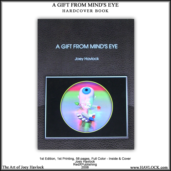 BOOK: A Gift From Mind's Eye - Joey Havlock ~ 1st Edition Hardcover