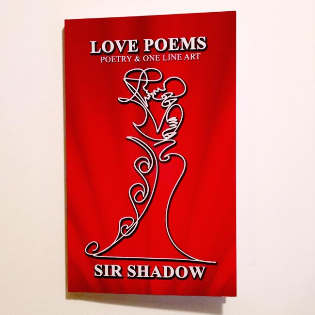 BOOK: Love Poems - Poetry & One Line Art - Sir Shadow