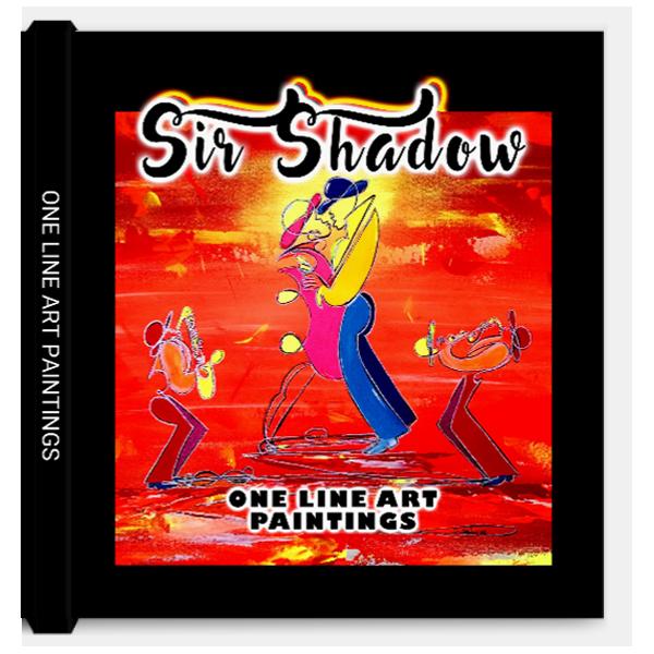 BOOK: PAINTINGS - One Line Art Paintings - Sir Shadow